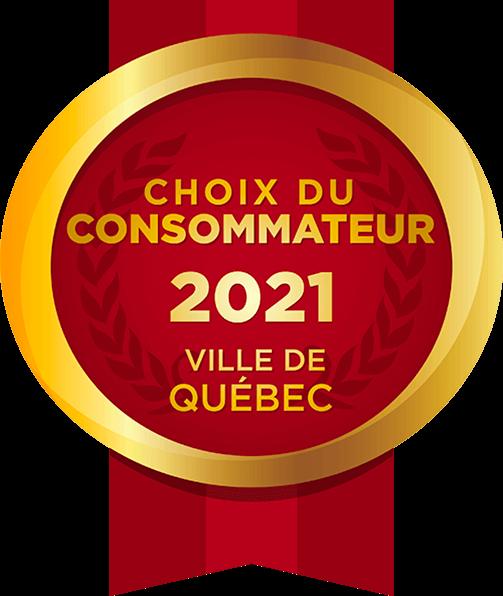 Choix du consommateur 2021 - Ville de Québec